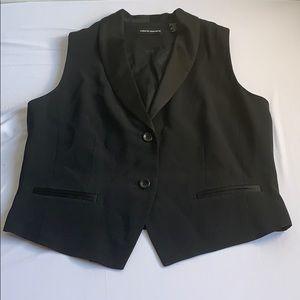 Black Vest Size 10